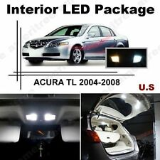White LED Lights Interior Package Kit for ACURA TL 2004-2008 ( 11 Pcs )