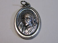 """† PRIEST'S BLESSED """"MOTHER TERESA OF CALCUTTA"""" MEDAL NOW SAINT & ROSARY GIFT †"""