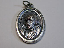 "† PRIEST'S BLESSED ""MOTHER TERESA OF CALCUTTA"" MEDAL NOW SAINT & ROSARY GIFT †"