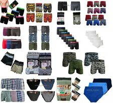 3 X Pairs of Men's Boys Plain Printed Army Cotton Boxers Trunks Underwear Pants