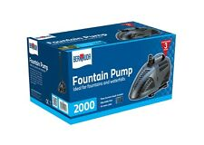 Garden Water Fountain & Accessories 2000 lts per Hour Suitable For All Ponds