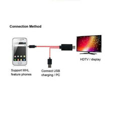 2M 1080P Micro USB MHL a HDMI cavo HDTV Samsung Galaxy S3 S4 Note2