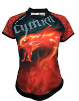 Olorun Wales Dragon Inferno Ladies Supporters Rugby Shirt 08-22