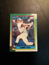 1990 Topps ROOKIE Baseball Card #692 Sammy Sosa Chicago White Sox, OF, RC