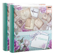 Slip in memo photo album for 200 photos 6x4'', travel memories, vintage X 2