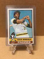 *1976 Topps San Diego Padres 160 Dave Winfield HOF Baseball Card*