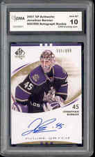 2007 Jonathan  Bernier SP Autentic Autograph rookie Gem Mint 10 #219