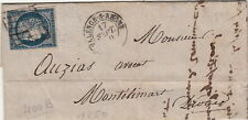 Lettre/Cover n°4 Valence-S-Rhone 1850 Brief