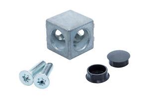 Würfelverbinder Aluprofil 3D 2D 20 30 40 ohne Gewindeschneiden!