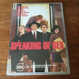 Speaking of Sex DVD R4 Like New! FREE POST
