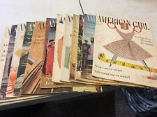 American Girl Magazine 1960 (12 issues)