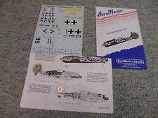 AeroMaster decals 1/48 48-098 Reich Defense Part 3     G124