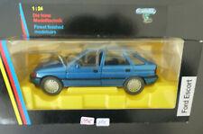 1:24 Schabak❌ Ford Escort MK4 Blau met.❌ in OVP NEU#4404