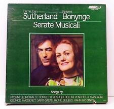 Sutherland & Bonynge Serate Musicali 3 LP Box Set Vinyl 1981 OSA13132 NM