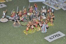 28mm fantasy / human - warriors 19 figures - inf (27752)