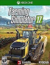 Farming Simulator 17 (Microsoft Xbox One, 2016) Farmer Game Simulation X box 1