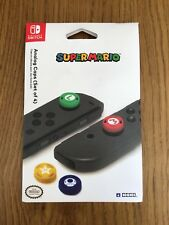 Official Super Mario Thumbstick Grips Caps Nintendo Switch Controller Joycon