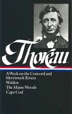 Henry David Thoreau  WALDEN MAINE WOOD CAPE COD CONCORD #8164
