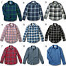 NWT Hollister-Abercrombie Mens Classic Plaid Stretch Flannel Shirt Poplin Shirt