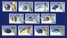 Briefmarken aus der Karibik mit Fische-Motiv