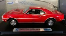 1968 CHEVROLET  CAMARO SS 396  RED BY  WELLY RARE FIND