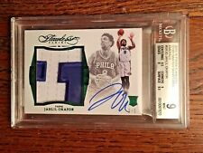 2015-16 Flawless Jahlil Okafor /5 Rookie Jumbo Patch Auto RPA RC Immaculate!