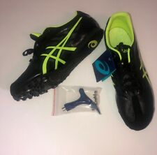 Asics Men's Hyper Ld 5 Track Shoes New no Box, Includes Spike Kit G404Y Spikes