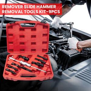 Inner Bearing Puller Remover Slide Hammer Internal Blind Hole 8-32mm Tools Kit