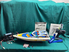 Kyosho Viper R Radio Controlled Speedboat Complete With Airtronics Radio Set