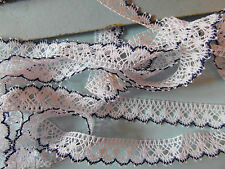 mercerie dentelle blanche marrine  1mx1.5cm☺lace