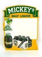 5 Bucks!  Large 11x14 inch Mickey's Malt Liquor Cardboard tacker sign