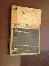 CAT 518 GRAPPLE SKIDDER CATERPILLAR PARTS BOOK  S/N 55U 95U USED