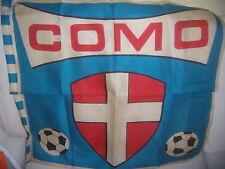 A.C. COMO BANDIERA CALCIO ANNI '60 CON STEMMA E PALLONI