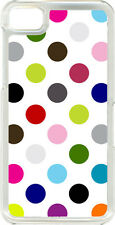 Different Color Big Polka Dots Designs on Blackberry Z10 TPU Hard Case Cover