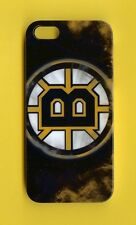 BOSTON BRUINS 1 Piece Glossy Case / Cover iPhone SE / 5 / 5S (Design 6)+ Stylus