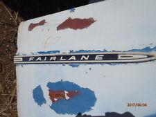1967 Ford Fairlane Fender trim molding RH