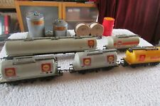 SET OF 5 HORNBY OIL TANKERS, SHELL  AND GULF