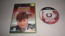 Xbox Primer Modelo Juego Championship Manager Temporada 01/02 EIDOS Español