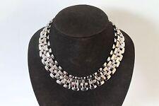 Silver & Diamante Chain Necklace  BNWT