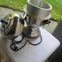 Farberware Stainless Steel Coffee Maker Automatic Percolator Model 30 Vintage