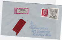 Germany Berlin 1972 Bahnpost railway stamps cover ref r20129