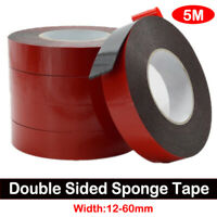 3pcs Auto Truck Car Acrylic Foam Double Sided Attachment Tape Adhesive 12-60mm