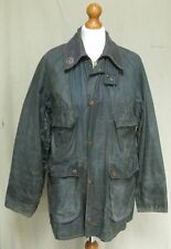 Barbour Bedale used green wax jacket country hunting shooting size 38 C