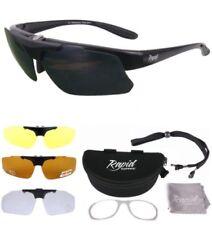 Occhiali e monolente da ciclismo con montatura in nero Rapid Eyewear