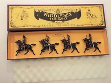 Britains Set 8812 The Duke of Cambridge's Middlesex Yeomanry, 4 Mounted Figures