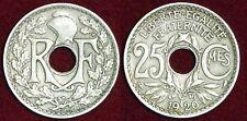 FRANCE 25 centimes 1920