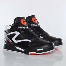 927789b0047 Reebok Pump Omni Lite Dee Brown Retro Black Orange White Size 8 Style J15298