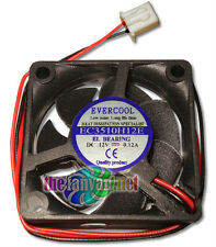 Tivo Roamio replacement fan Evercool 35mm x 10mm 12 Volt EL Bearing Fan NEW!