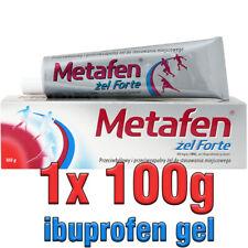 1x METAFEN GEL FORTE 100G ibupofen analgesic antiphlogistic muscles inflammation