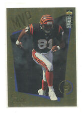 1996 Choice MVPs Gold #9 Carl Pickens Cincinnati Bengals